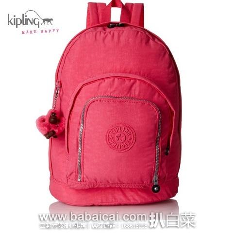 Kipling 吉普林 trent 大号多功能双肩背包 原价$109,现$46.34,到手约¥395,国内¥1250