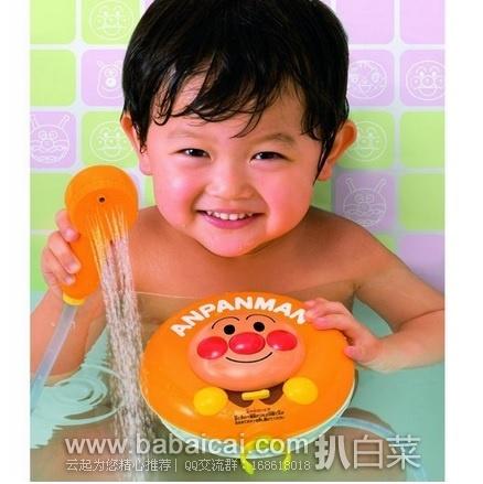 日本亚马逊:热销断货常客!Anpanman 面包超人 婴幼儿 淋浴花洒玩具 特价1364日元(¥83)