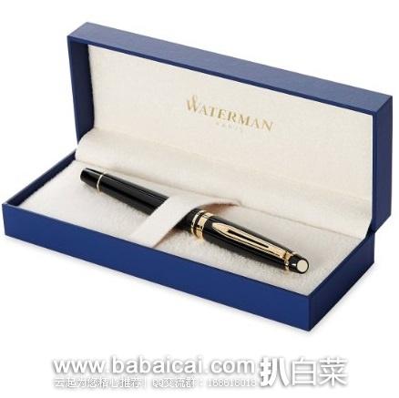 亚马逊海外购:法国原产 Waterman 威迪文 权威丽雅系列 F尖钢笔 降至¥273.32,免费直邮,含税到手新低¥303.93