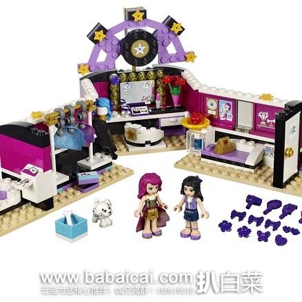 亚马逊中国:Lego 乐高 41104 Friends好朋友系列 大明星后台化妆间积木套装(共279个颗粒 ) 领取满¥200-60优惠券,实付新低¥169包邮