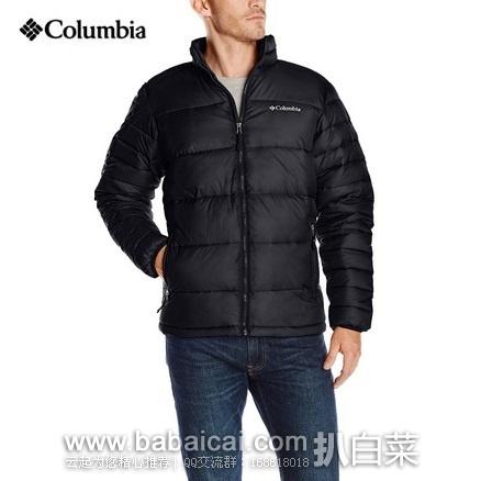 Columbia 哥伦比亚 Frost-Fighter 男士 冰霜战士羽绒服 羽绒夹克 原价$150,现$79.99,到手仅¥599