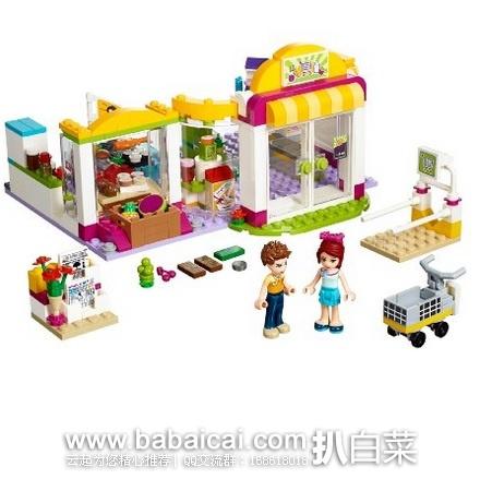 亚马逊中国:Lego 乐高 41118 心湖城超级市场 秒杀价¥239,用券减¥20和¥10+拼砌包优惠,实付新低¥182包邮