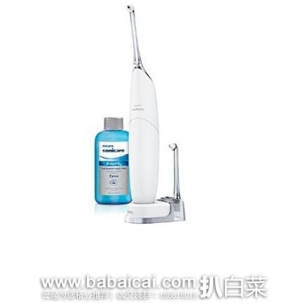 Philips 飞利浦 Sonicare HX8332/11 喷气式洁牙器 水牙线 原价$90,现$59.95-10=史低$49.95,到手约¥385,国内¥1000+