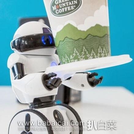 亚马逊海外购:WowWee Mip 蓝牙遥控智能机器人 降至¥213.21,直邮免运费,含税到仅¥248