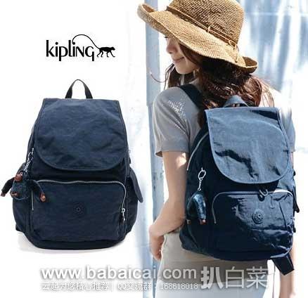 亚马逊海外购:Kipling 吉普林 女式 City Pack 双肩背包 降至¥280.7,直邮免运含税到手仅¥318