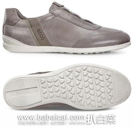 ECCO Chander Classic Slip-On爱步男士真皮休闲鞋