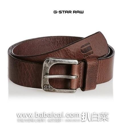 G-Star Men's Zed Belt  男士水牛皮皮带
