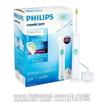 亚马逊海外购:Philips 飞利浦 Sonicare HX6511/43 声波电动牙刷 特价¥267.15,直邮免运费,含税到手仅¥299