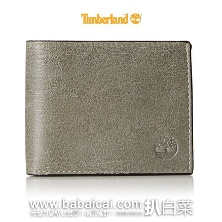 亚马逊海外购:Timberland 天木兰 男士真皮两折钱包 特价¥82.94,凑单直邮免运费,含税到手¥92.81