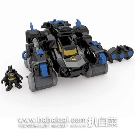 Fisher-Price 费雪 遥控声光 蝙蝠侠机器战车