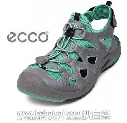 ECCO  爱步 Biom Delta Offroad Sandal  女士 牦牛皮户外包头鞋