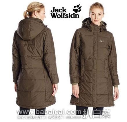 Jack Wolfskin 狼爪 Iceguard 女士长款棉服