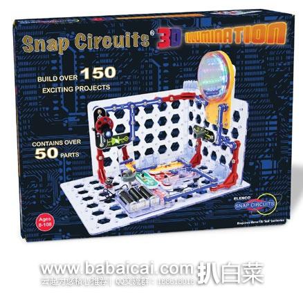 亚马逊海外购:ELENCO SC-3Di 电路积木玩具 特价¥279.87,直邮免运费,含税到手历史新低¥313