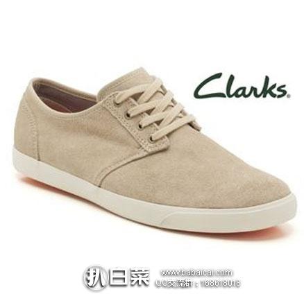 Clarks 其乐 男士 四眼系带德比鞋