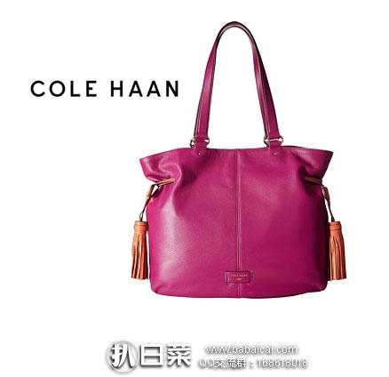 6PM:Cole Haan 可汗 Anisa Tote 女士 单肩真皮手提包 原价$330,现降至3折$99.99,新低