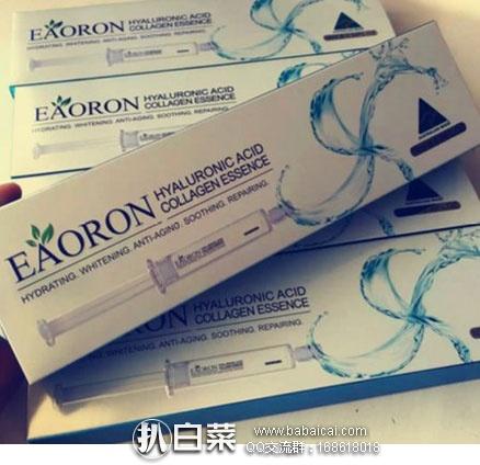 澳洲Pharmacyonline药房:Eaoron 第3代 涂抹式水光针 玻尿酸精华液 10ml (保湿补水紧致) 好价AU$16.95,凑单直邮包邮到手约¥86
