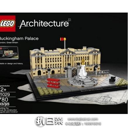 2016年新品,LEGO 乐高 21029 白金汉宫 原价$50,现历史新低$35.99 ,到手¥315