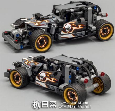 2016年新款!LEGO 乐高 42046 机械组 之 逃逸赛车 原价$20,现$11.99,到手仅¥118