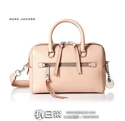 Marc Jacobs 女士 Recruit Bauletto Handbag Satchel Bag 真皮单肩斜挎包