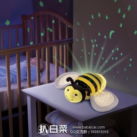 iHerb:Summer Infant 小蜜蜂音乐投影灯 睡眠安抚灯 可定时 现9折+用码95折+凑单直邮包邮到手¥142