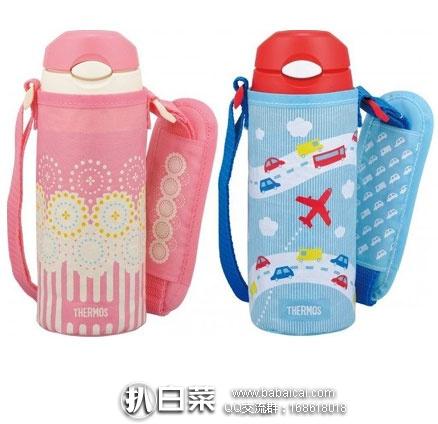 日本亚马逊:Thermos 膳魔师 FHL-400F SKY 儿童保温吸管杯 400ml 降至历史新低1673元(¥99)