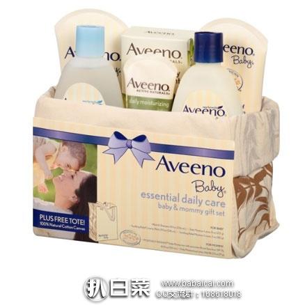 亚马逊海外购:Aveeno艾维诺 婴儿礼品套装 日常婴儿护理篮 7件套套装 好价¥160.18 ,凑单直邮免运费,到手仅¥179