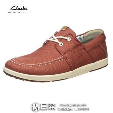 英国亚马逊:Clarks 其乐 Norwin Go 男士德比休闲鞋 现£23.89,直邮退税实付£19.91,直邮含税到手¥323