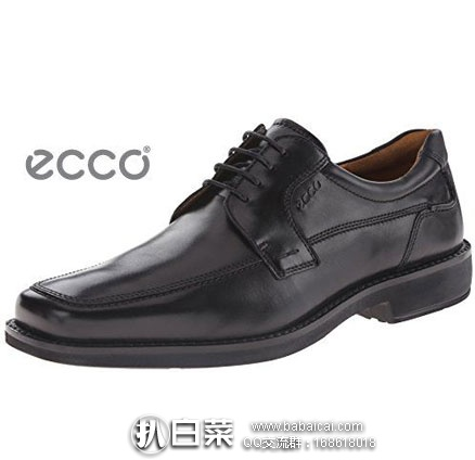 ECCO 爱步 Seattle 西雅图系列 高端男士 系带正装皮鞋 原价$180,现$73.09,到手¥585,国内¥2999+