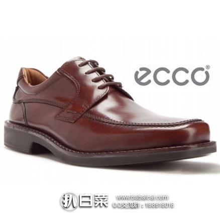 ECCO 爱步 Seattle 西雅图 男士 真皮正装鞋 原价$180,现$77.96,到手¥615,国内¥2999