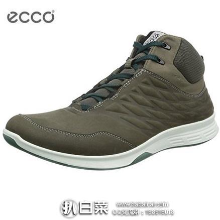 英国亚马逊:ECCO 爱步 EXCEED系列 男士牦牛皮户外休闲鞋 原价£120,现£67.95起,直邮退税实付£356.6,直邮含税到手约¥611,国内¥2199
