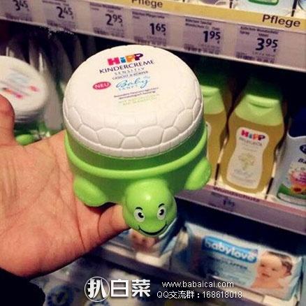 德国保镖大药房:HIPP 喜宝 小乌龟 有机杏仁油儿童婴儿保湿面霜 100ml*2只装 降至7.9折€11.02,凑单直邮到手约¥87元,折合¥43.5/个