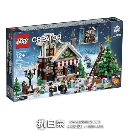 LEGO 乐高 10249 创意系列冬季玩具店 历史新低$59,到手¥490