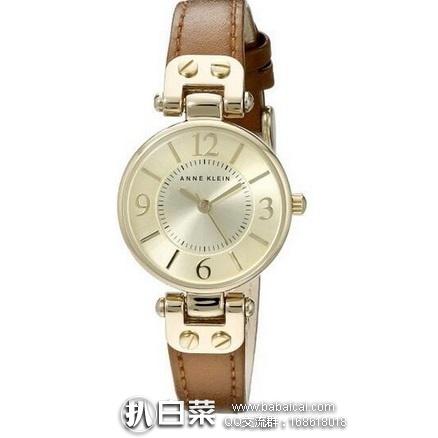 亚马逊海外购:Anne Klein 安妮克莱恩 女士时尚腕表 特价¥242.92,直邮免运费,含税到手仅¥322