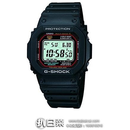 日本亚马逊:CASIO 卡西欧 G-SHOCK系列 MULTIBAND 6 动能电波手表 GW-M5610-1JF 现价13575日元(约¥843元)