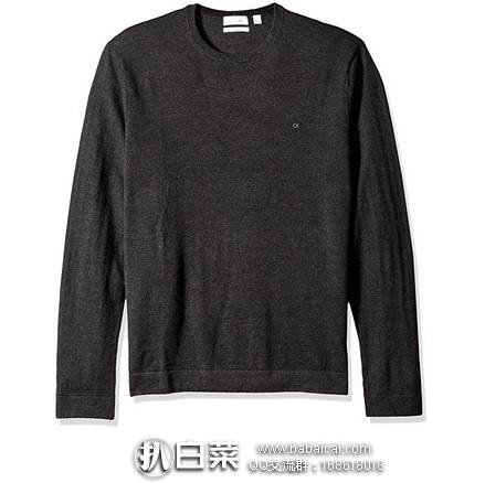 Calvin Klein 100%纯美利奴羊毛 男士针织衫 特价$49,到手约¥370,多色可选