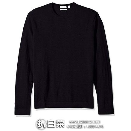 Calvin Klein Tipped 男子100%美利奴羊毛衫 原价$120,现$39.99,到手约¥315