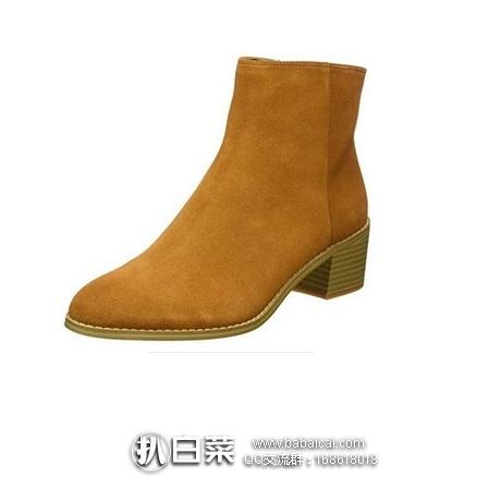 英国亚马逊: Clarks 其乐 Breccan Myth 女款真皮短靴  原价£100,现£35.99,直邮退税实付新低£29.99,直邮含税到手约¥