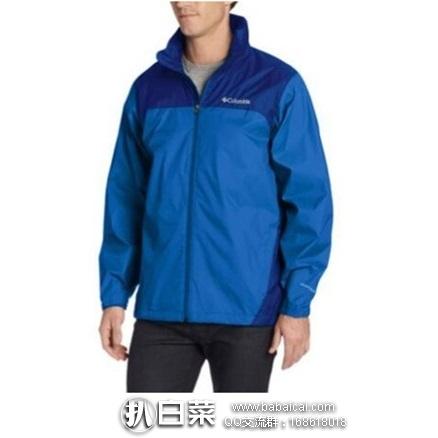 Columbia 哥伦比亚 Glennaker Lake男士防雨冲锋衣 夹克 原价$90,现$29.66,到手约¥270