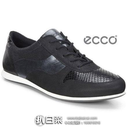 6PM:ECCO 爱步 触感 女士真皮休闲鞋 原价$150,现降至4折$65