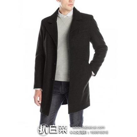 亚马逊海外购:Kenneth Cole 男士羊毛混纺大衣 原价$275,现特价¥427,直邮免运费,含税到手仅¥480