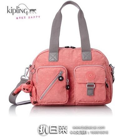 亚马逊海外购:KIPLING 吉普林 Defea 经典手提包 特价¥291.02,直邮免运费,含税到手仅¥326