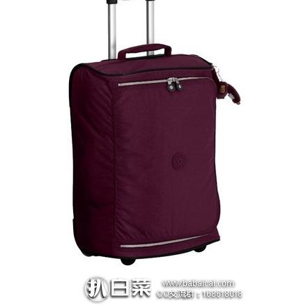 英国亚马逊:Kipling 吉普林 TEAGAN XS 33升旅行箱 拉杆箱 原价£110,现£46.9,直邮退税实付新低£39.08,直邮含税到手¥475