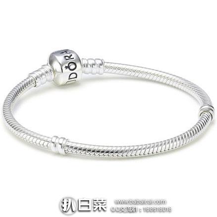 亚马逊海外购:Pandora 潘朵拉 纯银手镯 现特价¥340,直邮免运费,含税到手¥381