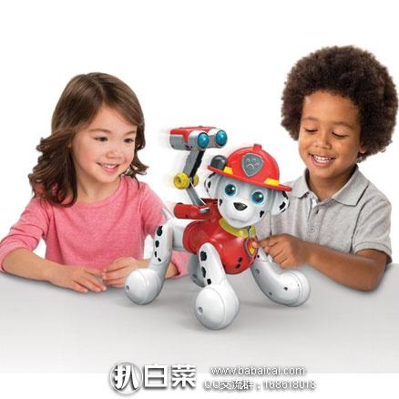 亚马逊海外购:Zoomer Paw Patrol 狗狗巡逻队 Marshall 智能玩具狗 现历史新低¥326.11,直邮免运费,含税到手约¥365,国内¥740+