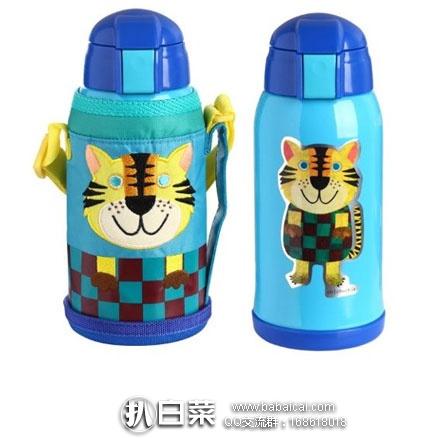 亚马逊中国:Tiger 虎牌 不锈钢儿童 真空保温杯MML-C06C-CT小老虎(特殊吸管杯头,更适合幼儿)特价¥556包邮,领券5折实付¥278