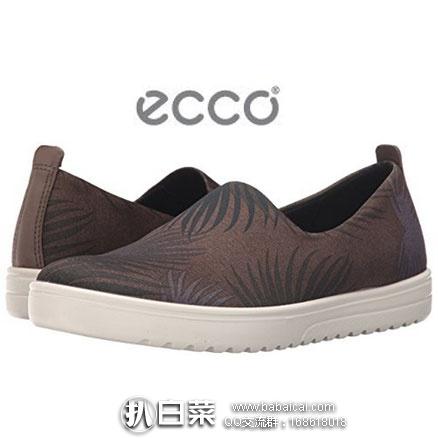6PM:ECCO 爱步 法拉女士印花一脚蹬板鞋  降至新低价$45.99