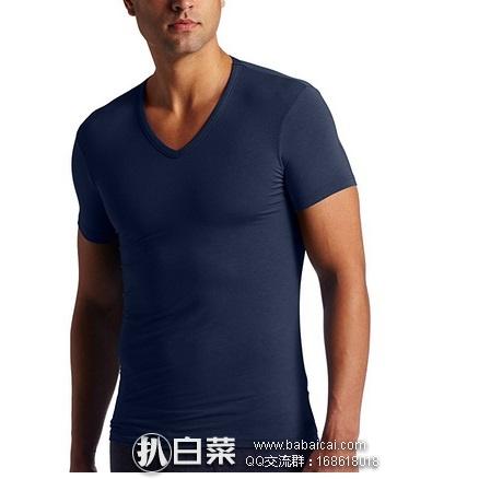 Calvin Klein 男士莫代尔棉 短袖T恤 原价$35,现历史新低$8.49,到手约¥80