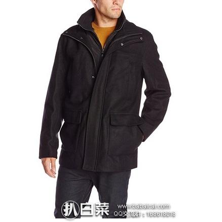 Calvin Klein Walking Coat 男款羊毛外套 原价$325,现$77.41起,到手约¥640起