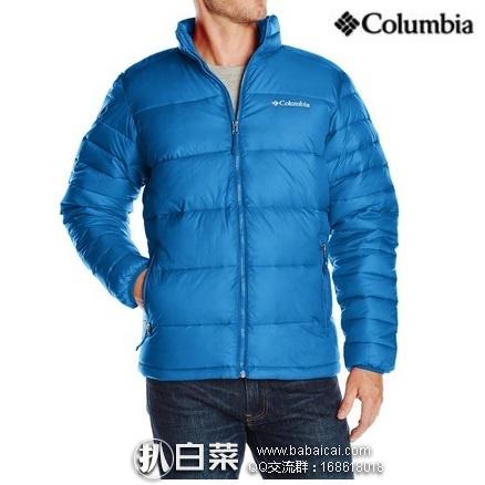 Columbia 哥伦比亚 冰霜战士 羽绒服 夹克 原价$150,现$64.46,到手约¥515,国内¥1500+