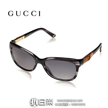 英国亚马逊:Gucci 古驰 GG 3672/S 女款太阳镜 现降至£102.77,直邮退税后£85.64